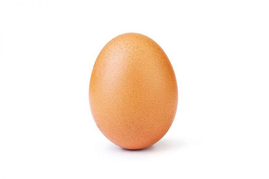 The+most+liked+Instagram+Post+up+to+date.+The+egg+has+recently+surpassed+Kylie+Jenner+for+the+most-liked+phot+on+Instagram.+Credit%3A+The+Verge