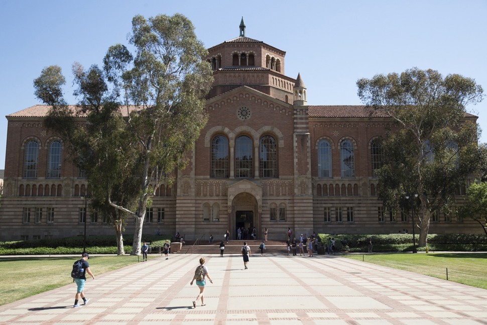 The University of California - Los Angelos. This university received the greatest number of applicants of any U.S. News-ranked school in the fall of 2017. [Photo Credit: U.S. News]