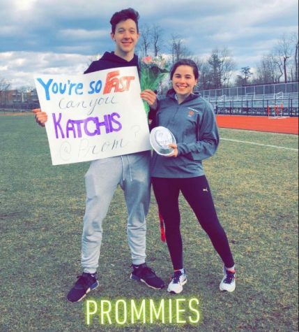 "Jordan Peiser and his date Chloe Katchis are a classic example of a typical promposal. The extravagant way to ask someone to prom has become a norm at Great Neck North. Claire Pan asks, ""Is it all too much?"""