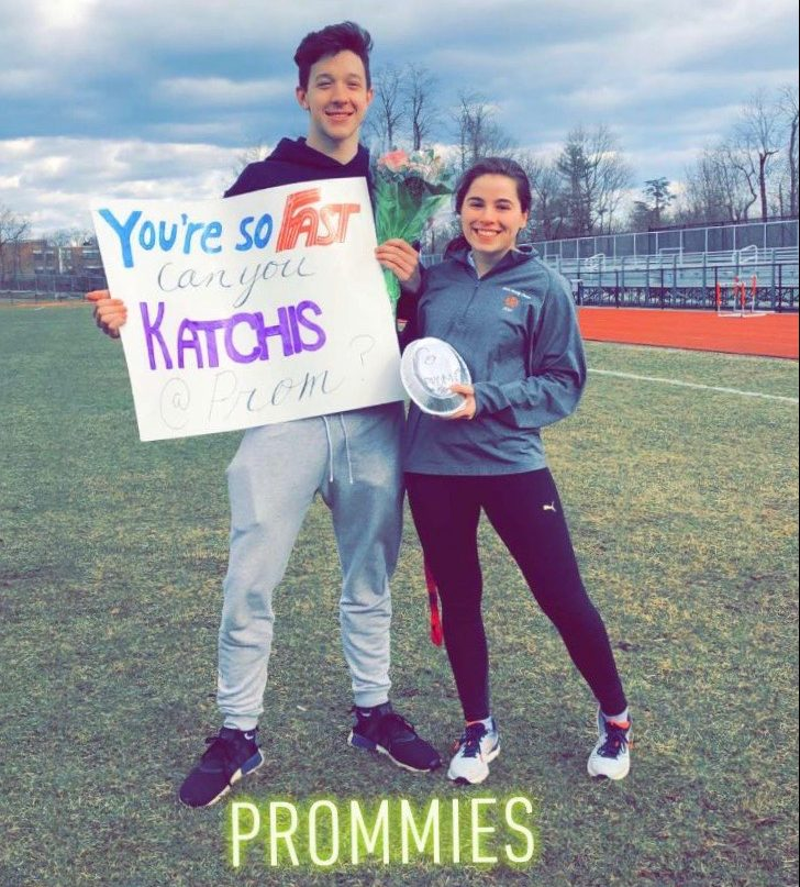 Jordan Peiser and his date Chloe Katchis are a classic example of a typical promposal. The extravagant way to ask someone to prom has become a norm at Great Neck North. Claire Pan asks,
