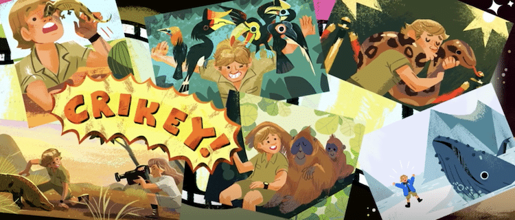 Part+of+the+Google+Doodle+depicting+Steve+Irwin%27s+life+accomplishments.+Irwin+devoted+his+life+to+animal+conservation%2C+leading+the+Steve+Irwin+Conservation+Foundation+and+the+International+Crocodile+Rescue.+Irwin+also+hosted+multiple+television+series+focused+on+nature+and+operated+Australia+Zoo.+Despite+his+conservationism+throughout+his+life%2C+PETA+took+issue+with+Google%27s+celebration+of+his+life.+%5BPicture+credit%3A+Google%5D