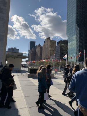 A Unique Experience at The UN: Bringing Forward The Legacy of Anne Frank