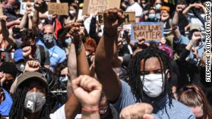 Black Lives Matter protests have been around the country, with Generation Z on the front lines. (Source: CNN)