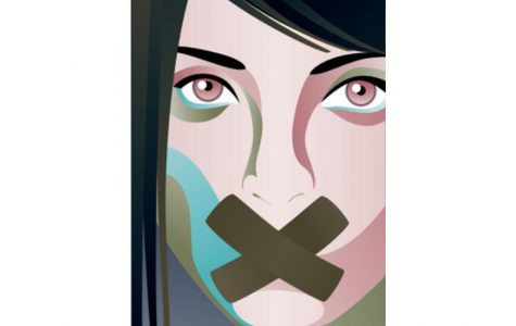 Are certain students being silenced—directly or indirectly—for their political views? (Credit: Claudelle Girard)
