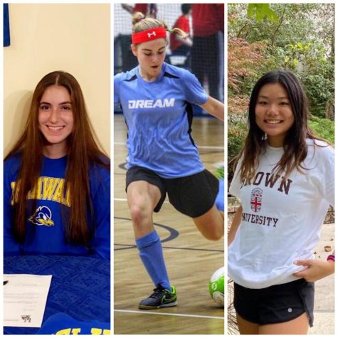 Three Seniors Commit to Play Division I Sports