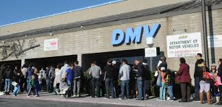 The long lines to get in the DMV. Entry is based off of the time of one