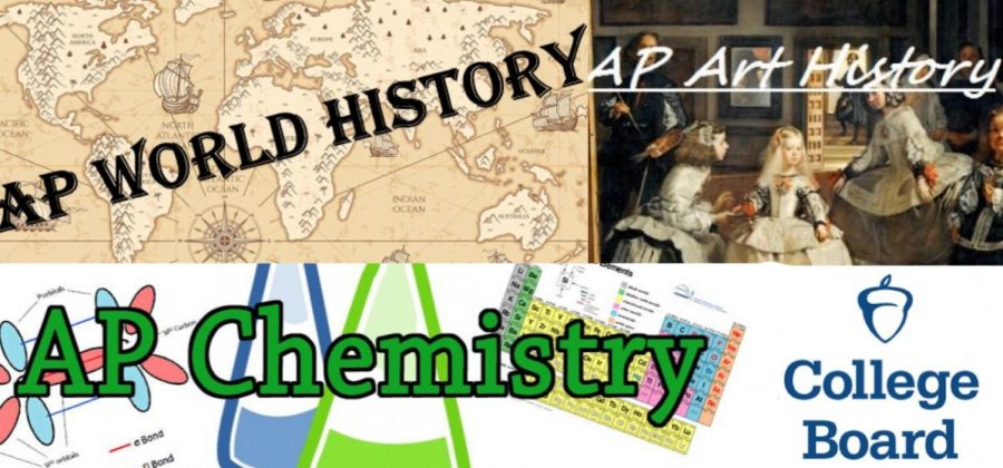 North High offers incoming sophomores three AP courses: AP World History, AP Art History , and AP Chemistry.