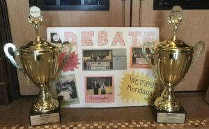 North High Debate Team Achieves Success this School Year