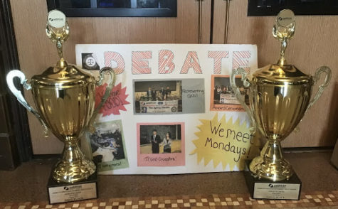 North High Debate Team Achieves Success this School Year